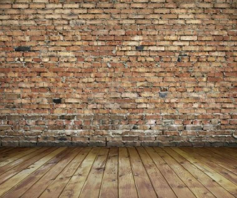 paredes modernas acabado ladrillo visto