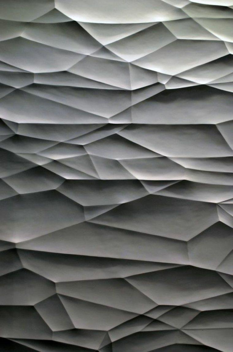 paredes originales diseños texturas relieves 3D