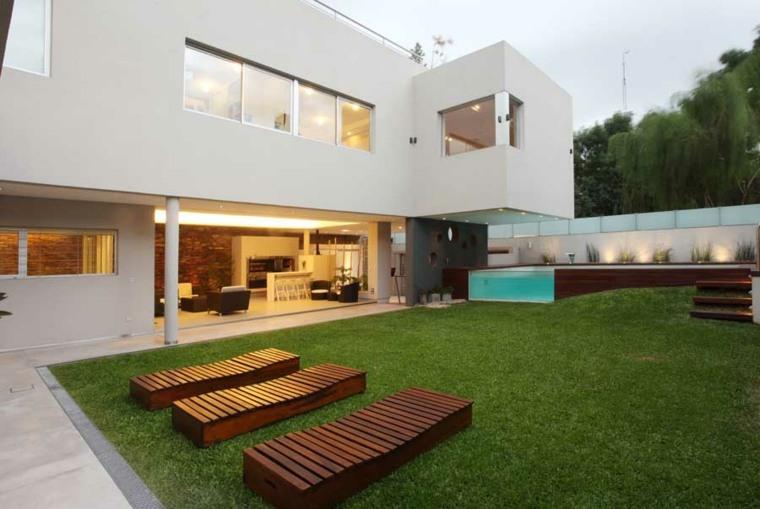 patios jardines diseno moderno