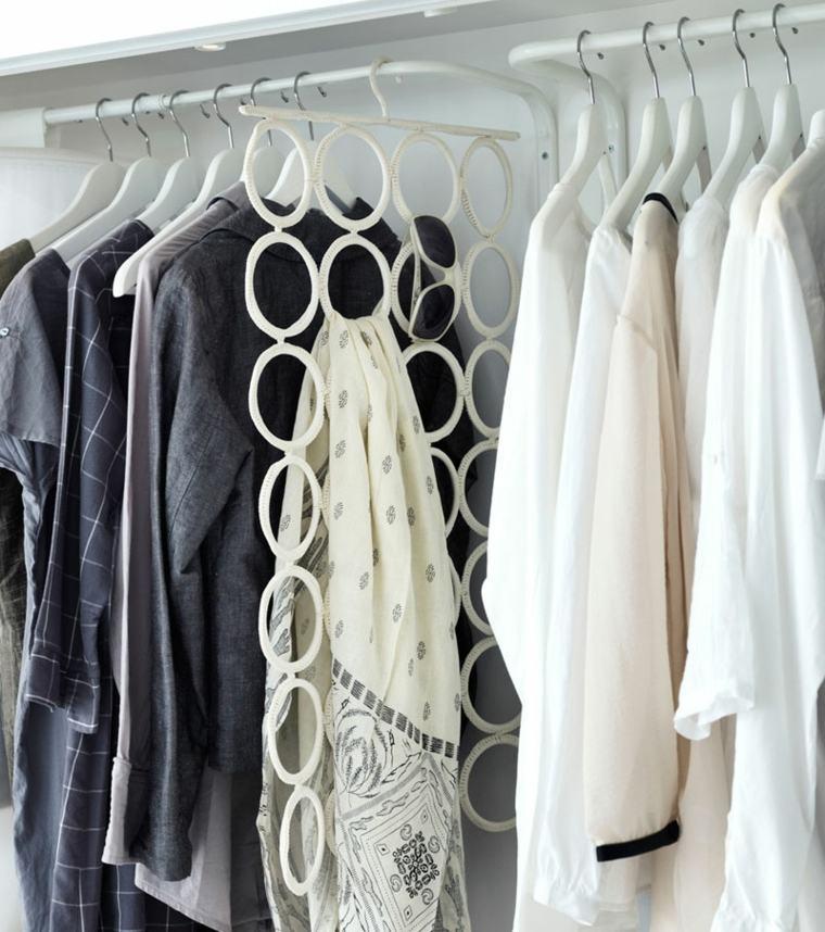 perchas organizar armarios prácticos baratos