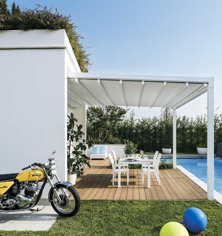 pergolas diseno moderno jardin terraza contemporanea ideas