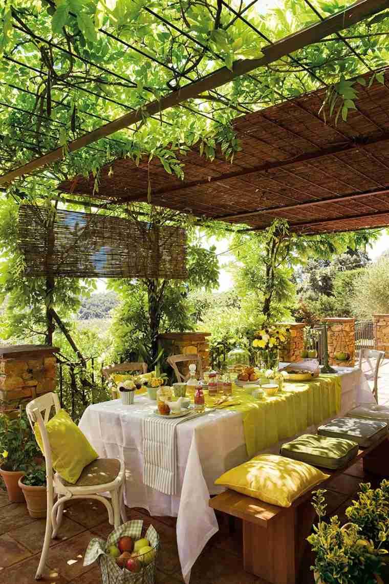 P rgolas dise o moderno para jardines y terrazas - Pergolas para jardines ...