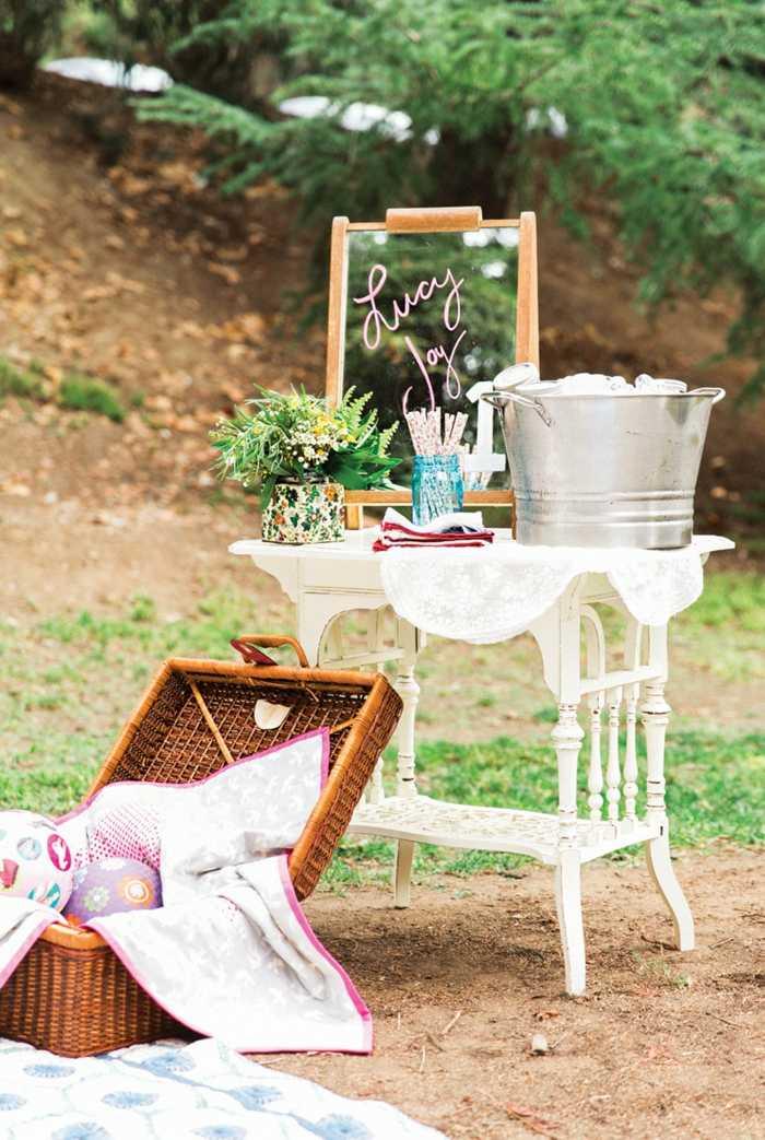 picnic muebles paredes materiales salones