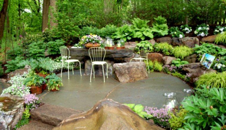 piedra artificial decorativa mesa rocas