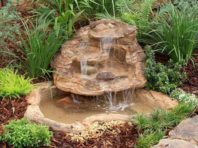 piedras decorativas fuente roca natural