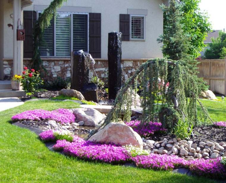 piedras decorativas jardín nuestra casa