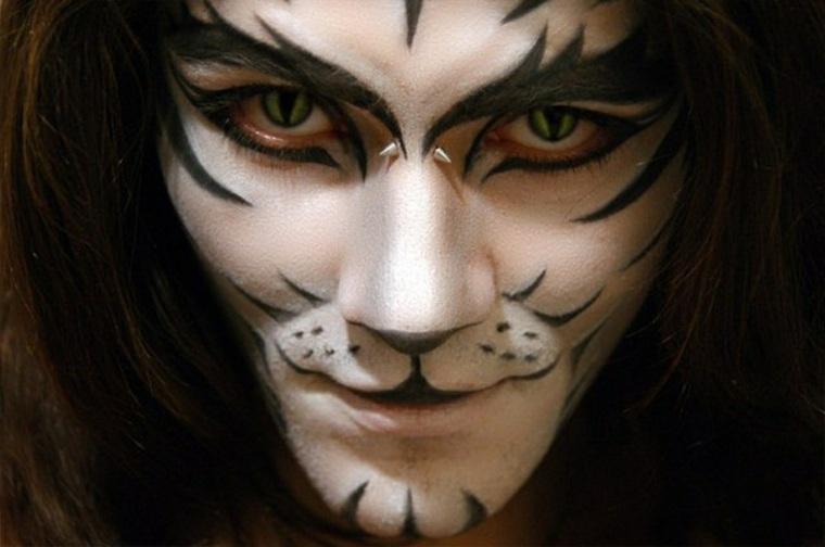 maquillaje de halloween para hombre