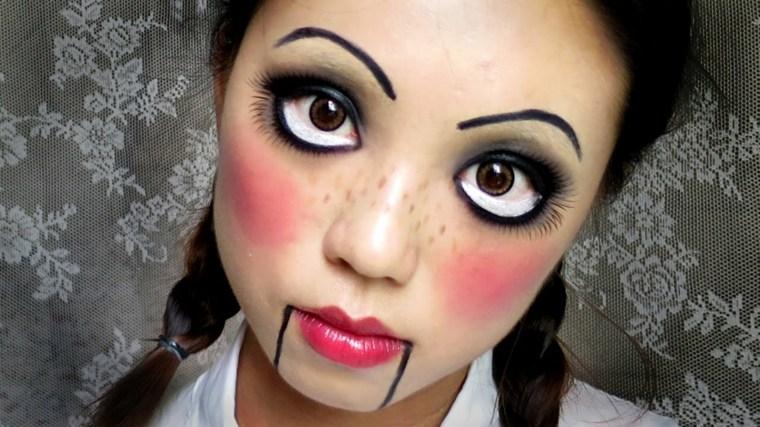 Maquillaje para halloween c mo hacerlo - Pintura cara halloween ...