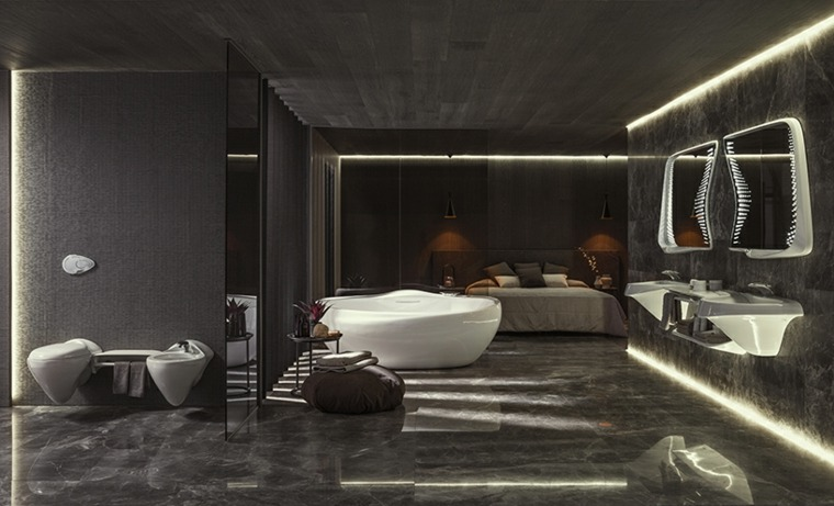porcelanosa banos zaha hadid architects vitae coleccion ideas