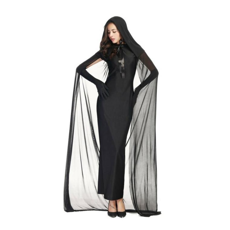 original disfraz viuda negra