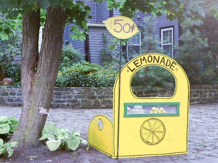 caseta limonada fresca niños