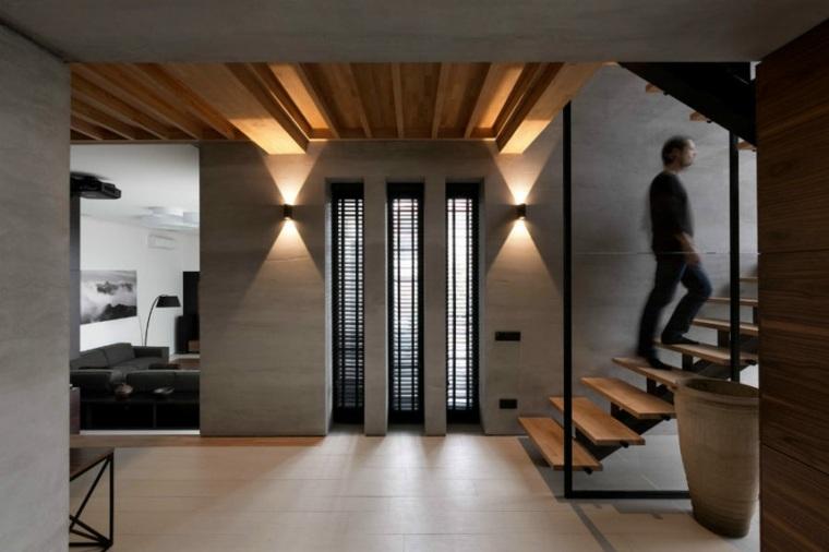 salon interior diseno moderno persianas