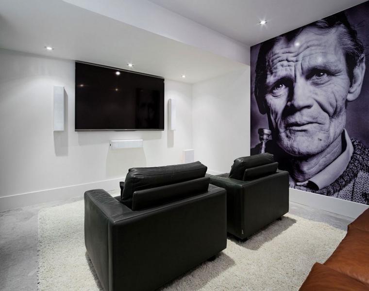 Cristal y acero corten la residencia heathdale en toronto - Diseno salon moderno ...