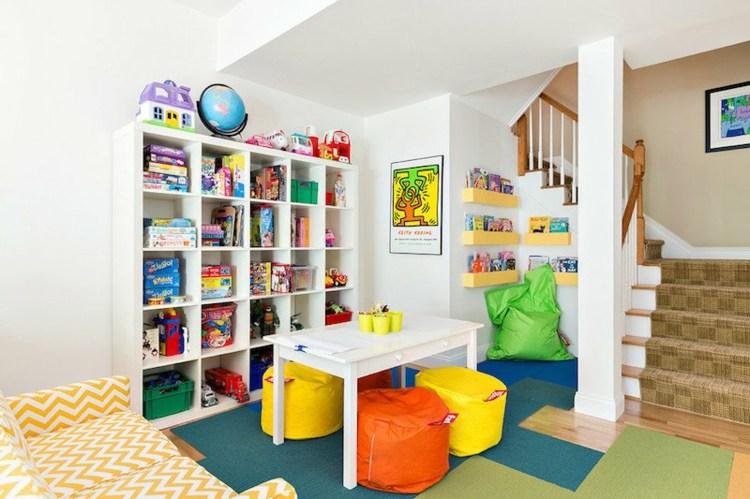 salones juego infantiles maneras colorido