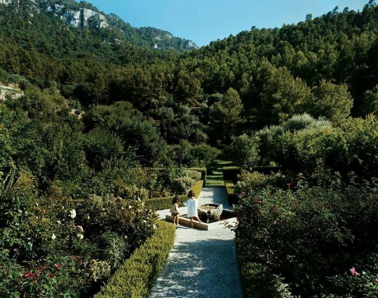 senderos camino disenos jardin estilo clasico ideas