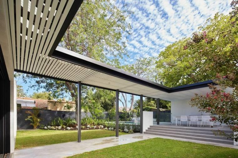 senderos camino jardin casa disenada David Barr Architect ideas