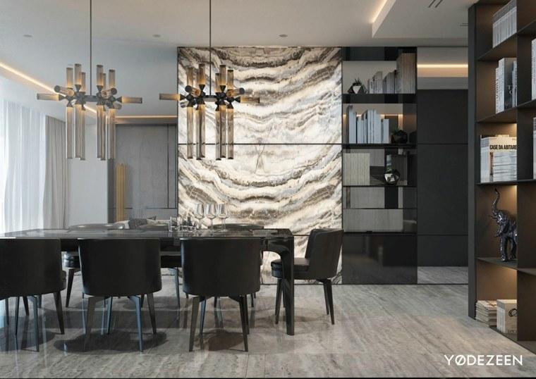 separadores estilos conceptos estantes madera