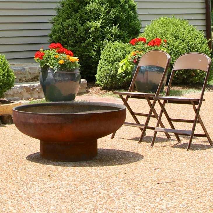 sillas plegables maderas circulares metales