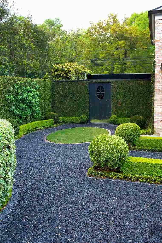 Suelos senderos y caminos de jard n en 48 im genes - Grava para jardin precio ...