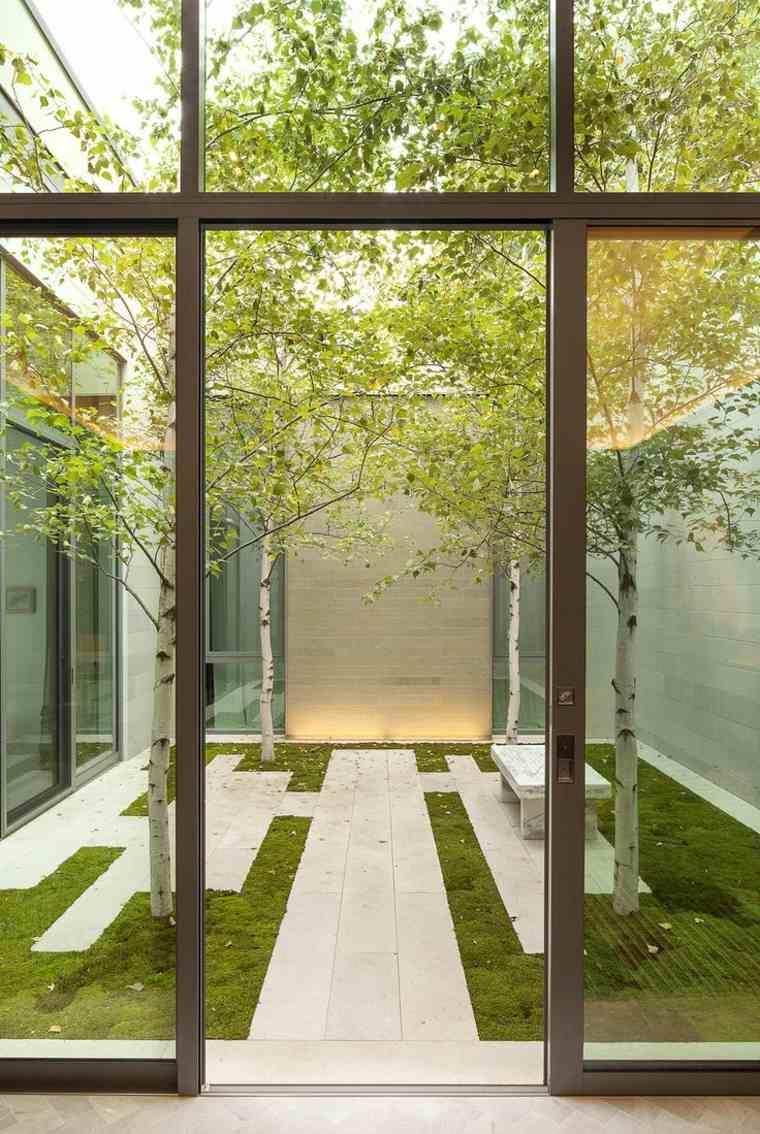 Suelos senderos y caminos de jard n en 48 im genes - Suelos para jardines pequenos ...