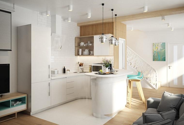 Apartamentos dise os para espacios peque os funcionales for Toute petite cuisine 2m2