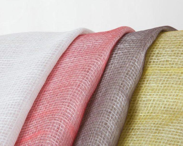 tela cachemira natural cortinas