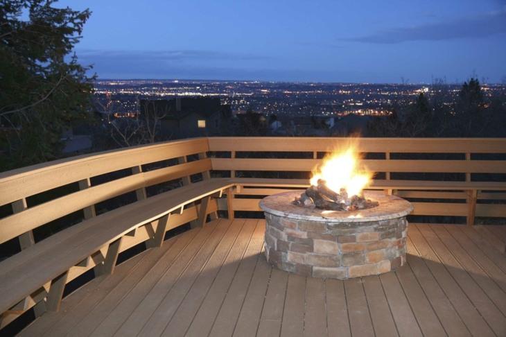 terrazas materiales ambientes salones ciudad