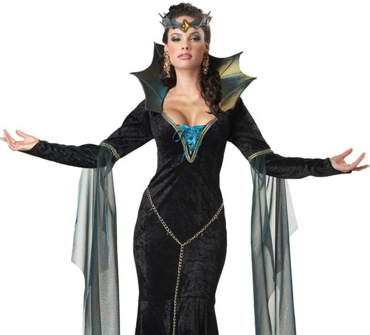 traje disfraz bruja Maléfica disney