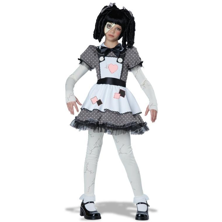 traje original muñeca zombie
