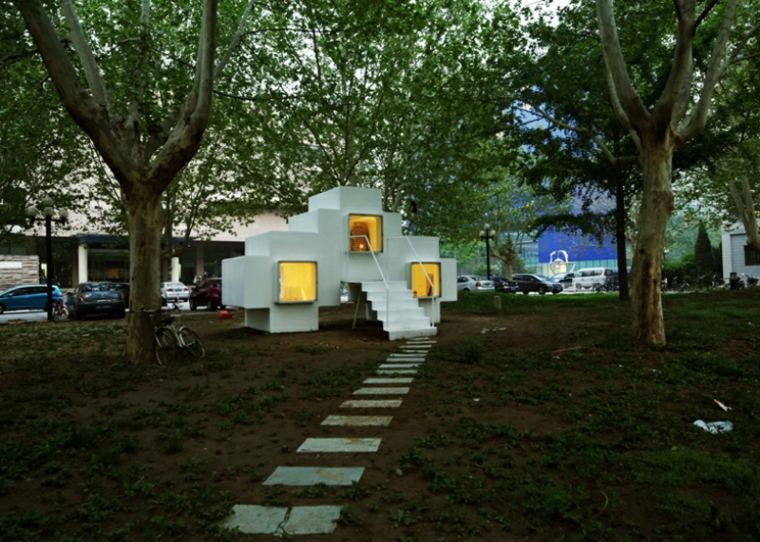 tu casa portable disenada Studio Liu Lubin ideas
