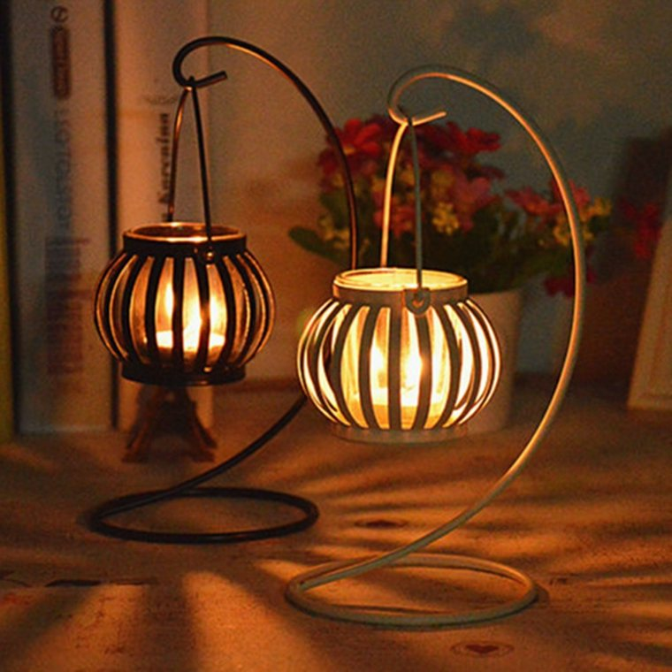 velas decorativas esferas colgantes