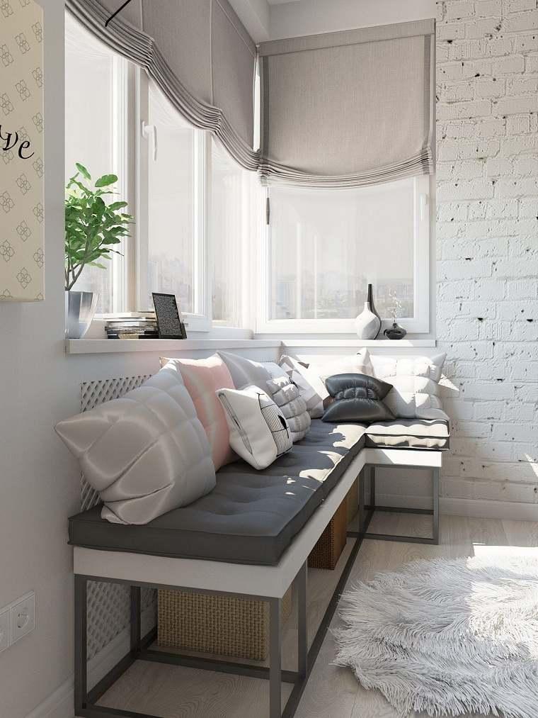ventanas cortinas especiales muestras blanco