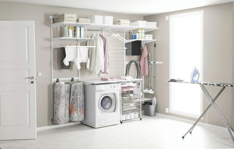 Cuarto de lavado   ideas prácticas para su organización