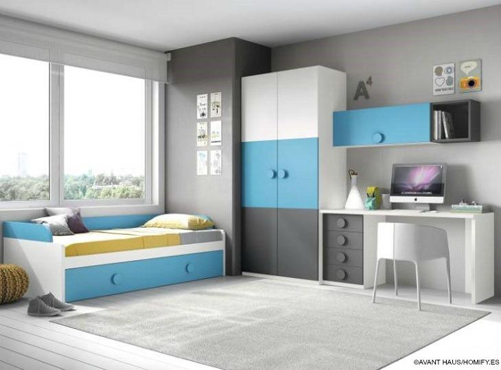 Habitaciones juveniles detalles imprescindibles para - Dormitorios juveniles con estilo ...