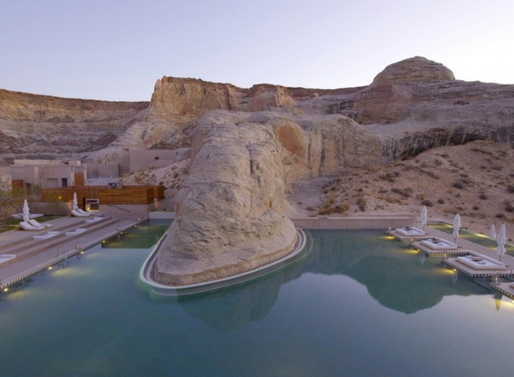 Amangiri Resort Spa piscina ideas naturales