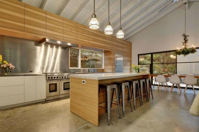 diseno cocina espacios amplios casa moderna Capstone Custom Homes