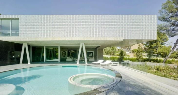 Clavel Architects obras color terrazas modernas