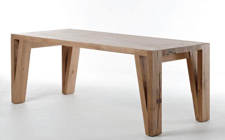 mesa madera estilo inspiracion diseno comedor ideas