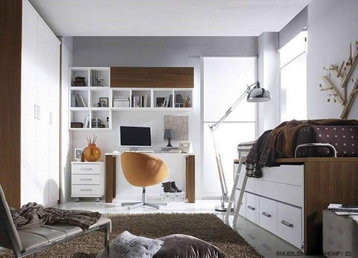 Decoracion vintage dormitorios juveniles finest amazing - Decorar habitacion juvenil ikea ...