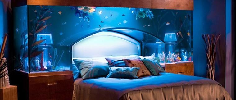 acuarios gigantes dormitorio