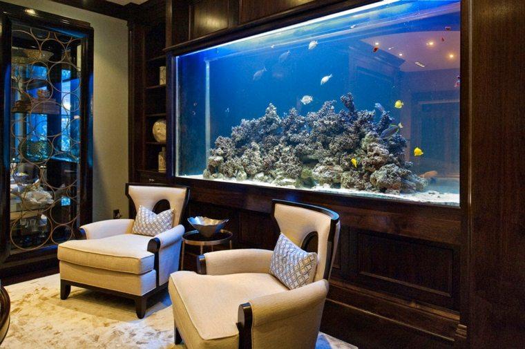 acuarios grandes sala estar