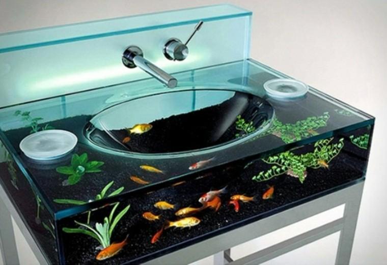 acuarios modernos lavabo