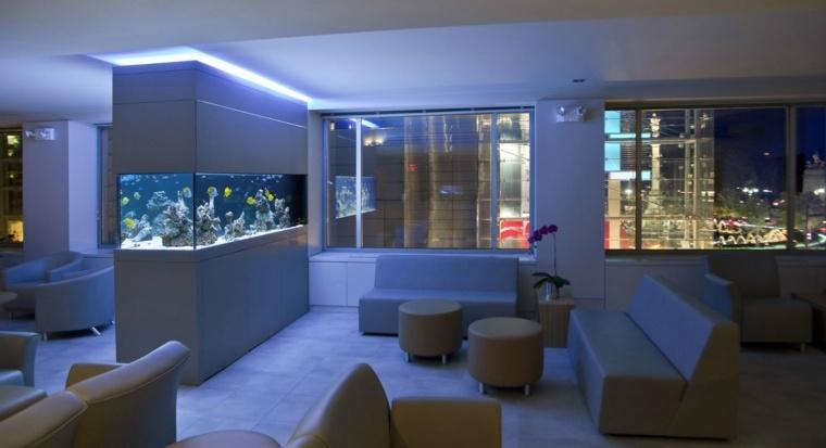 acuarios modernos salón
