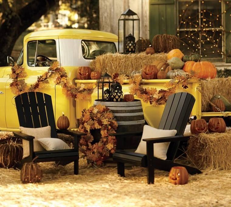 adultos decoración original otoño
