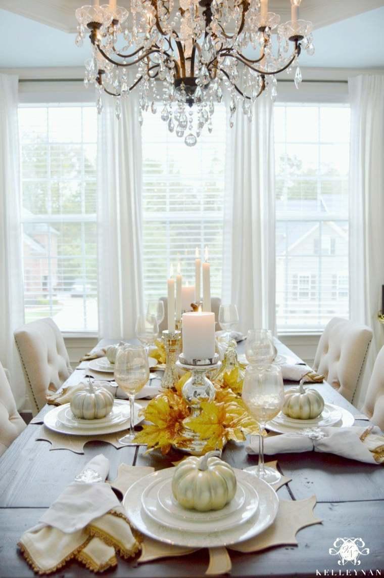 adultos mesa lujosa blanca brillante