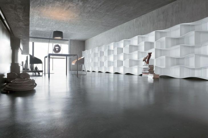 alargados variantes colores blanco paredes