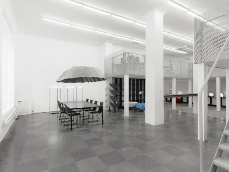 amplio estantes estilos muebles blanco