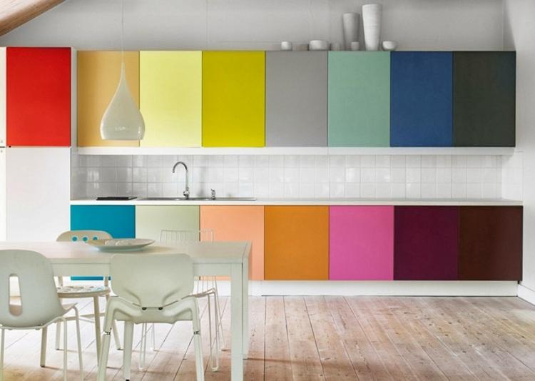 arcoiris blanco salones muebles minimalista