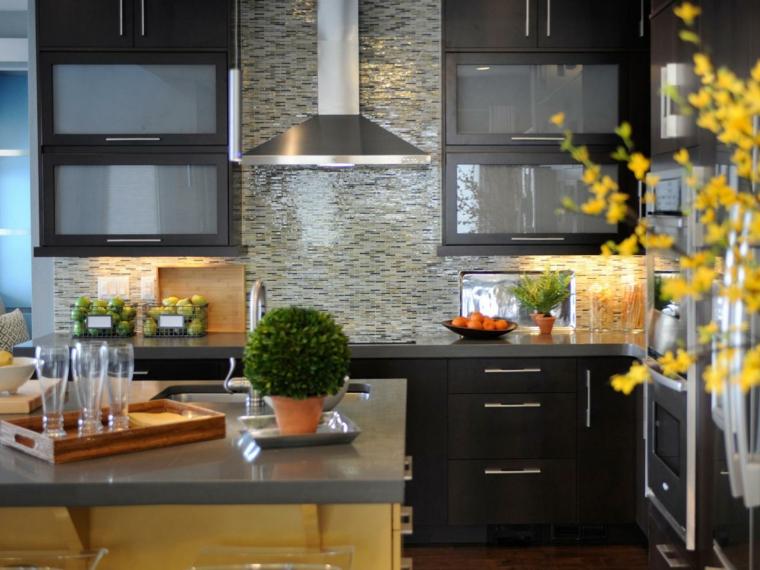 azulejos cocina modernos tamaño espacios