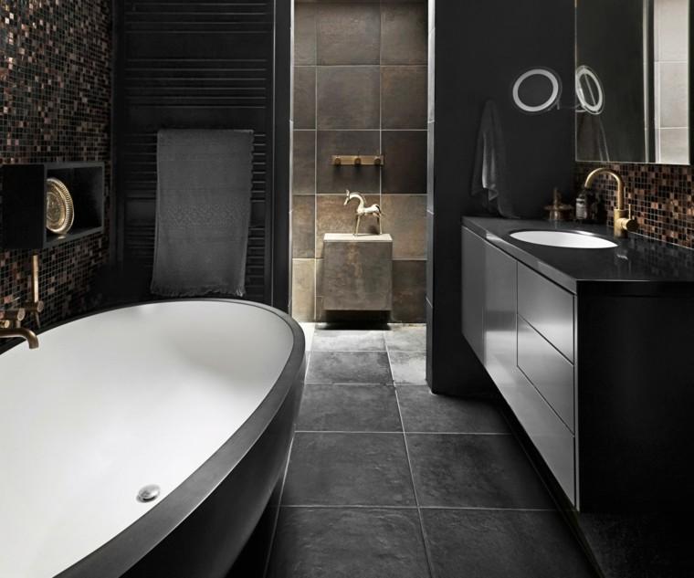baños originales bañera bicolor